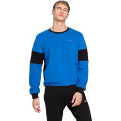 tekstylia Męskie Bluzy Fila 683087 Niebieski