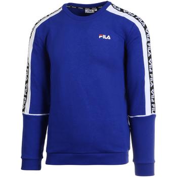 tekstylia Męskie Bluzy Fila 687698 Niebieski