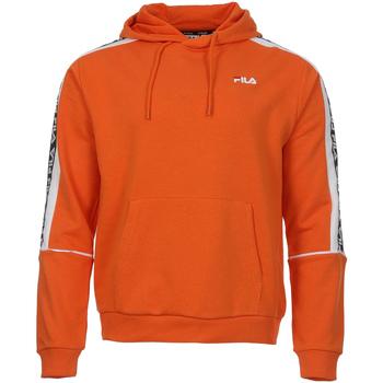 tekstylia Męskie Bluzy Fila 687708 Pomarańczowy