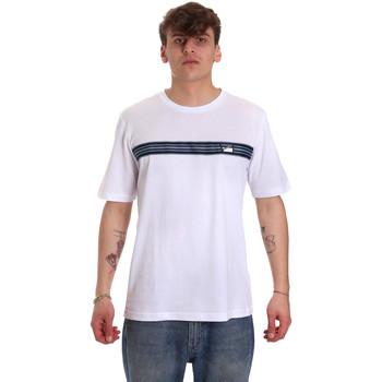 tekstylia Męskie T-shirty z krótkim rękawem Antony Morato MMKS01686 FA100144 Biały