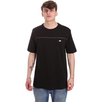 tekstylia Męskie T-shirty z krótkim rękawem Antony Morato MMKS01696 FA100144 Czarny