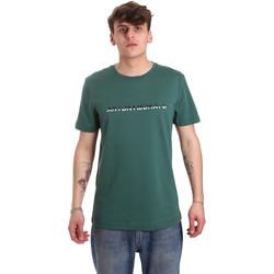 tekstylia Męskie T-shirty z krótkim rękawem Antony Morato MMKS01754 FA100144 Zielony