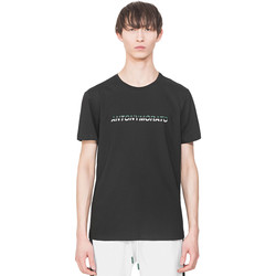 tekstylia Męskie T-shirty z krótkim rękawem Antony Morato MMKS01754 FA100144 Czarny