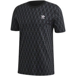 tekstylia Męskie T-shirty z krótkim rękawem adidas Originals FM3423 Czarny