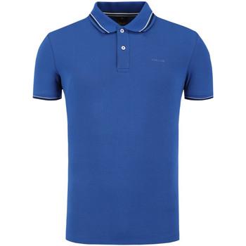 tekstylia Męskie Koszulki polo z krótkim rękawem Geox M0210A T2649 Niebieski