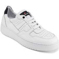 Buty Męskie Trampki niskie Exton 427 Biały