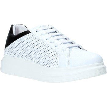 Buty Męskie Trampki niskie Rocco Barocco N5.3 Biały