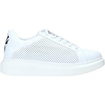 Buty Męskie Trampki niskie Rocco Barocco N5 Biały