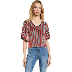 tekstylia Damskie Topy / Bluzki Gaudi 011FD53001 Czerwony