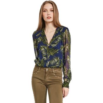 tekstylia Damskie Koszule Gaudi 011BD45018 Niebieski