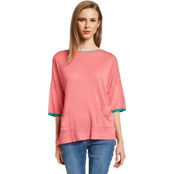 tekstylia Damskie Swetry Gaudi 011BD53033 Różowy