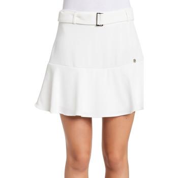 tekstylia Damskie Spódnice Gaudi 011BD75001 Biały