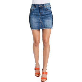 tekstylia Damskie Spódnice Gaudi 011BD76001 Niebieski