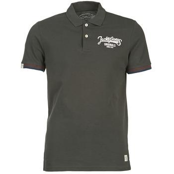 tekstylia Męskie Koszulki polo z krótkim rękawem Jack & Jones COMPANY Czarny