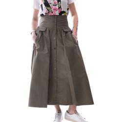 tekstylia Damskie Spódnice Fracomina FR20SP133 Zielony