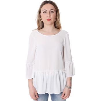 tekstylia Damskie Topy / Bluzki Fracomina FR20SP040 Biały