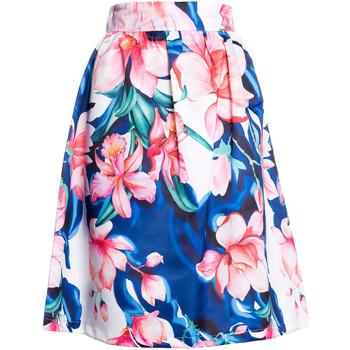 tekstylia Damskie Spódnice Fracomina FR20SP070 Niebieski