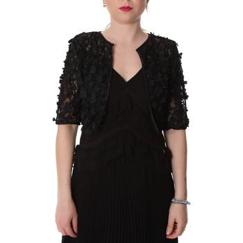tekstylia Damskie Swetry rozpinane / Kardigany Fracomina FR20SP636 Czarny