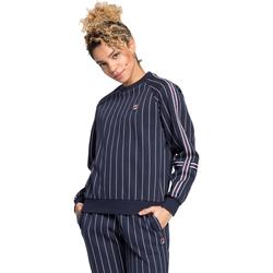 tekstylia Damskie Bluzy Fila 687651 Niebieski