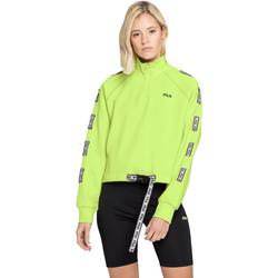 tekstylia Damskie Bluzy Fila 687658 Zielony