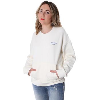 tekstylia Damskie Bluzy Pepe jeans PL580914 Biały