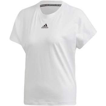 tekstylia Damskie T-shirty z krótkim rękawem adidas Originals FL4167 Biały