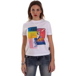 tekstylia Damskie T-shirty z krótkim rękawem Versace B2HVB7V630331003 Biały