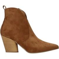 Buty Damskie Botki Grace Shoes 7241007 Brązowy