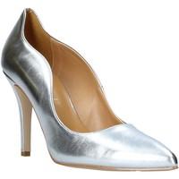 Buty Damskie Czółenka Grace Shoes 038002 Srebro