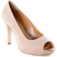Buty Damskie Czółenka Grace Shoes 457I001 Różowy