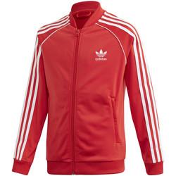 tekstylia Dziecko Bluzy dresowe adidas Originals FM5662 Czerwony