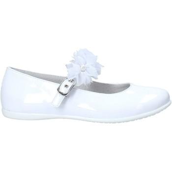 Buty Dziewczynka Baleriny NeroGiardini E031400F Biały
