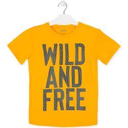 tekstylia Dziecko T-shirty z krótkim rękawem Losan 013-1018AL Żółty