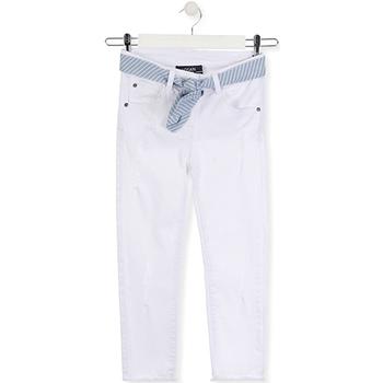 tekstylia Dziecko Jeansy slim fit Losan 014-9011AL Biały