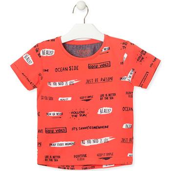 tekstylia Dziecko T-shirty z krótkim rękawem Losan 015-1003AL Pomarańczowy