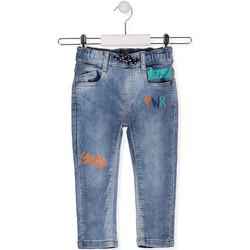 tekstylia Dziecko Jeansy slim fit Losan 015-6022AL Niebieski