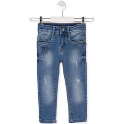 tekstylia Dziecko Jeansy slim fit Losan 015-9008AL Niebieski