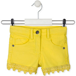 tekstylia Dziecko Szorty i Bermudy Losan 016-9001AL Żółty