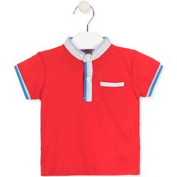 tekstylia Dziecko Koszulki polo z krótkim rękawem Losan 017-1791AL Czerwony