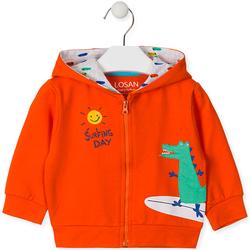 tekstylia Dziecko Bluzy Losan 017-6026AL Pomarańczowy