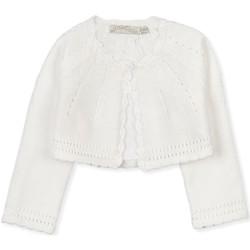 tekstylia Dziecko Swetry rozpinane / Kardigany Losan 018-5790AL Biały