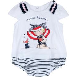 tekstylia Dziewczynka Kombinezony / Ogrodniczki Chicco 09050711000000 Biały