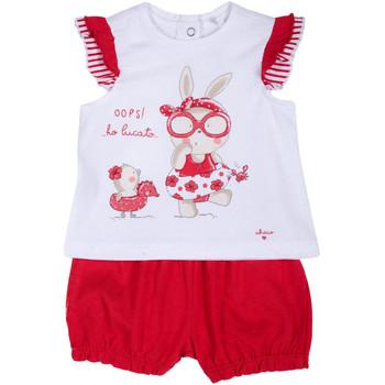 tekstylia Dziewczynka Komplet Chicco 09076380000000 Biały