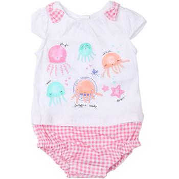 tekstylia Dziewczynka Kombinezony / Ogrodniczki Chicco 09050812000000 Biały