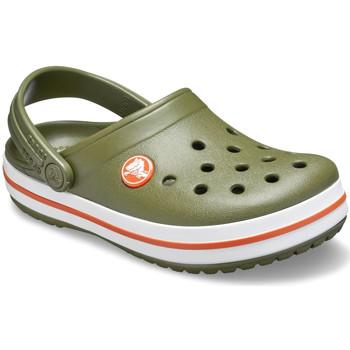 Buty Dziecko Chodaki Crocs 204537 Zielony