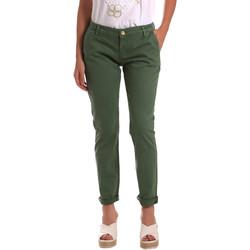 tekstylia Damskie Chinos Gaudi 811BD25009 Zielony