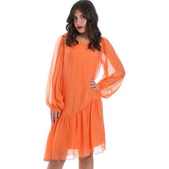 tekstylia Damskie Sukienki krótkie Gaudi 011BD15035 Pomarańczowy