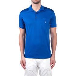 tekstylia Męskie Koszulki polo z krótkim rękawem Navigare NV72062 Niebieski