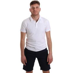 tekstylia Męskie Koszulki polo z krótkim rękawem Sseinse ME1517SS Biały