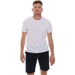 tekstylia Męskie T-shirty z krótkim rękawem Sseinse ME1566SS Biały